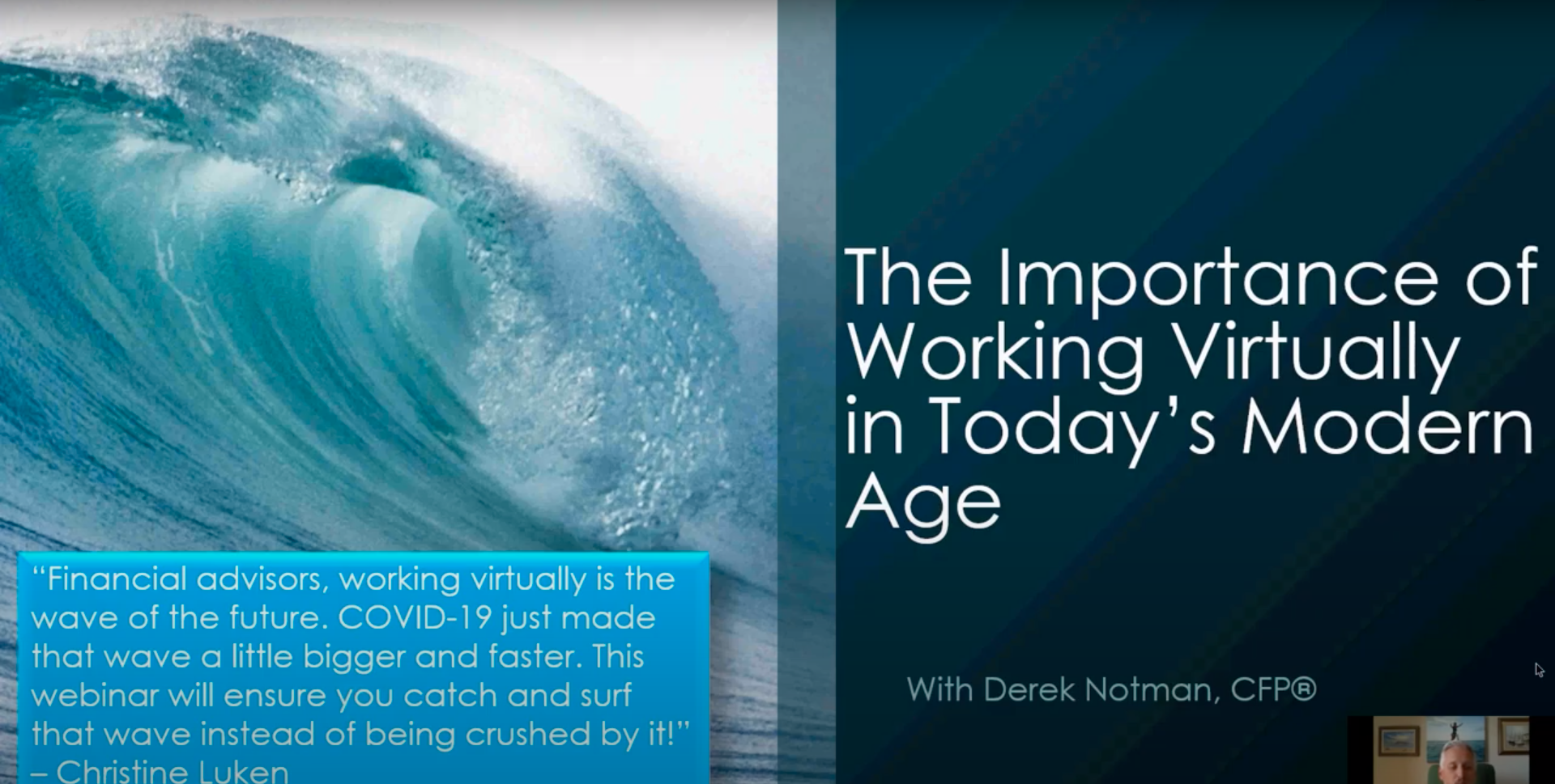 The Importance of Working Virtually in Today's Modern Age – Webinar Replay