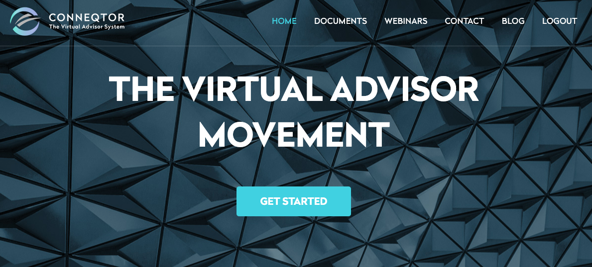 the virtual advisor system for financial advisors