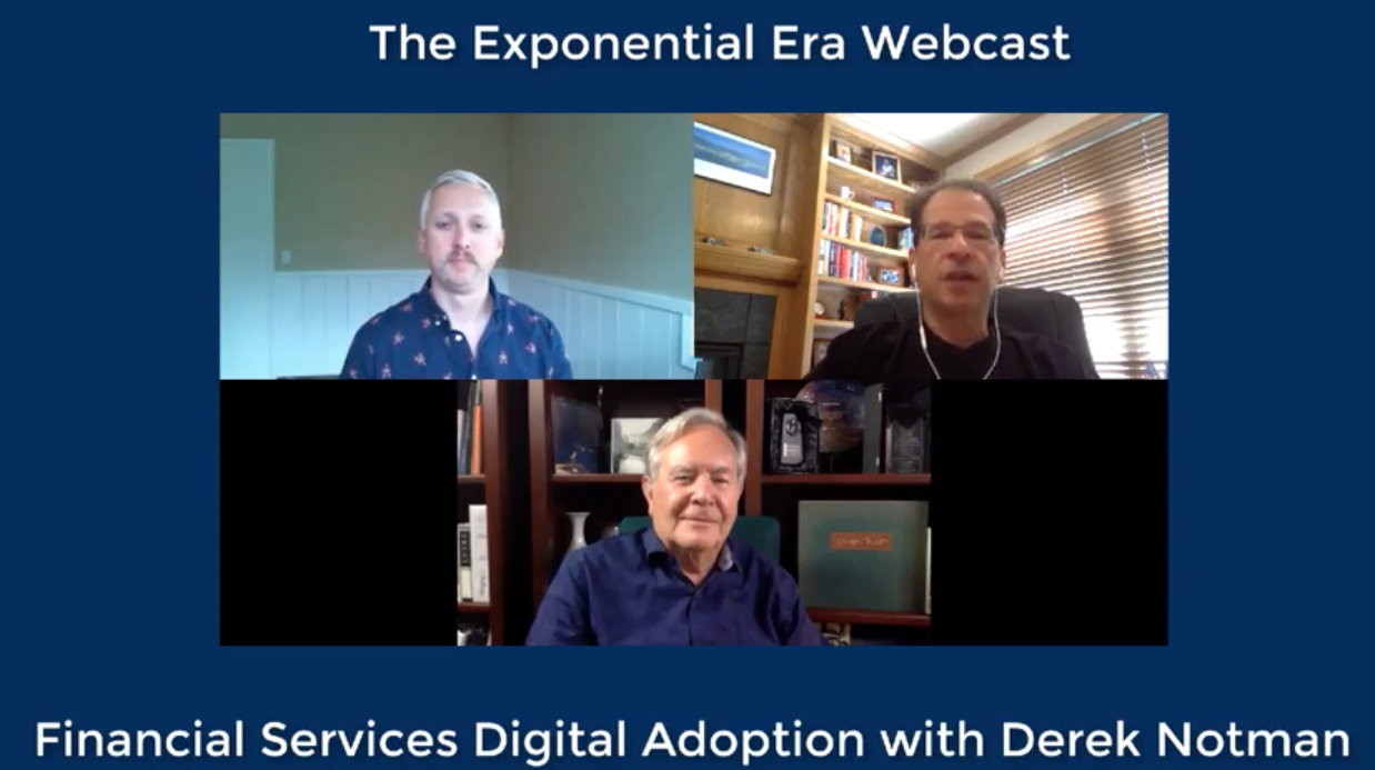 the exponential era webcast digital financial model