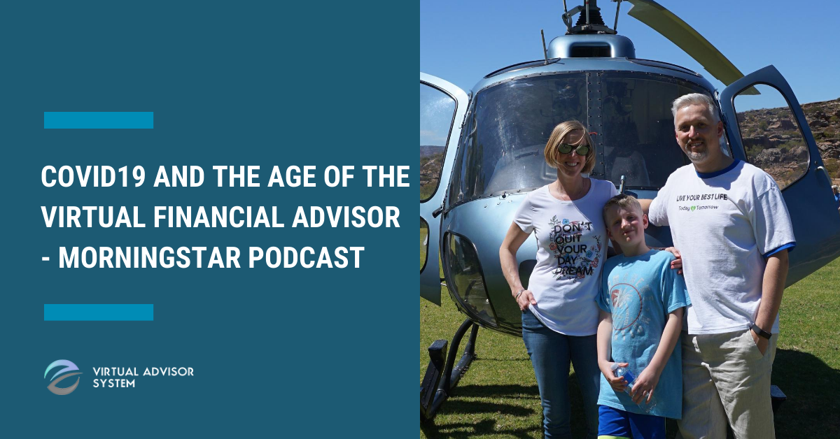 virtual financial advisor morningstar podcast